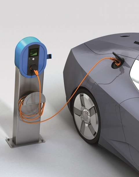 Image: Exolit OP supports recycling and upcycling of more environmentally-compatible glass fiber reinforced polyamides and enables increased recyclate usage in E&E & automotive parts at stable flame retardancy. Photo:  courtesy of Clariant.