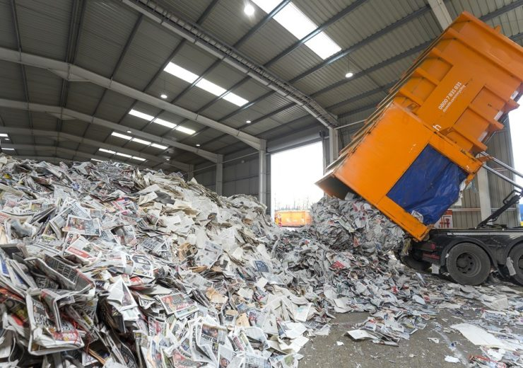 DS Smith recycling depot