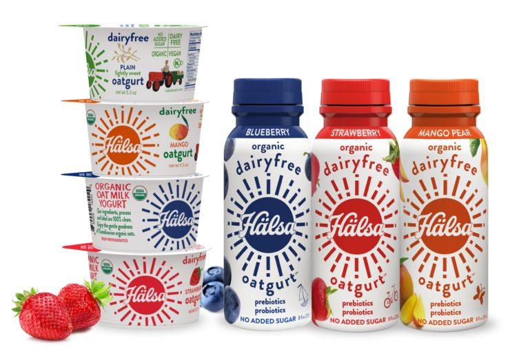 Halsa Organic Oatmilk Yogurt Cups