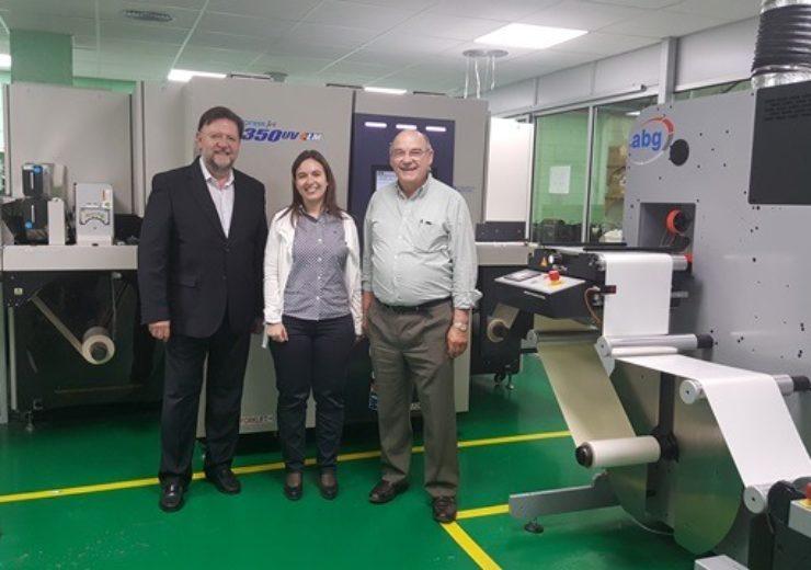 Syseam invests in Screen Truepress Jet L350UV+LM press