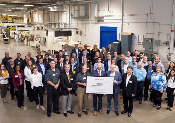 Miraclon opens second flexographic plate manufacturing line
