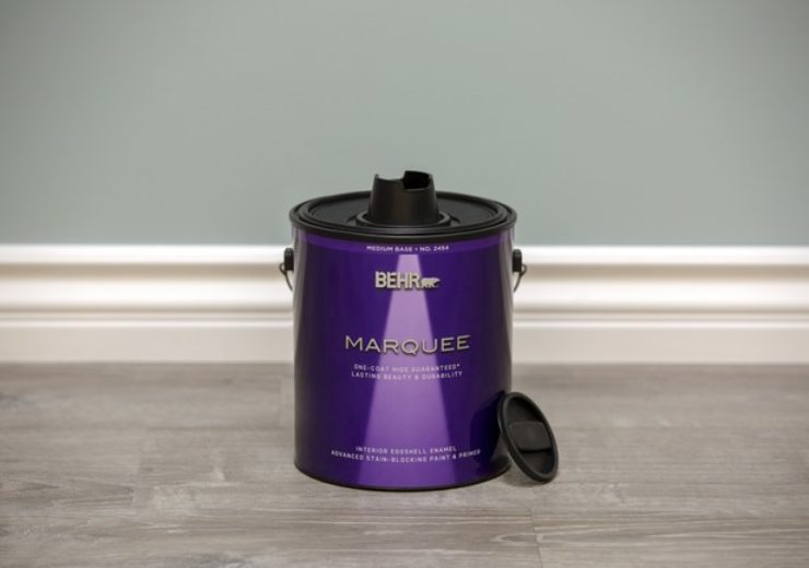 Behr transforms traditional paint can with eco-friendly simple pour lid
