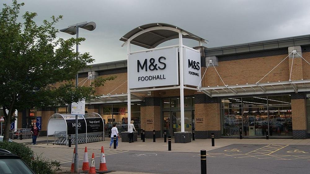 M&S packaging