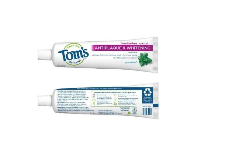Tom's of Maine launches recyclable toothpaste tube