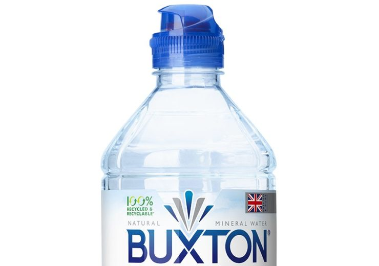 Nestlé to package Buxton water brand in 100% recycled plastic bottles by 2021