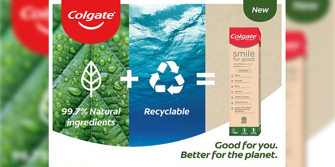 colgate toothpaste tubes recyclable