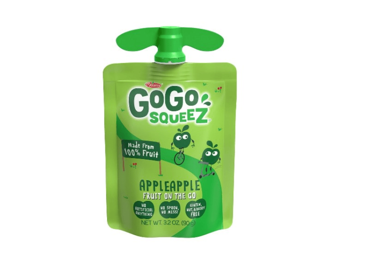 GoGo squeeZ to launch recyclable packaging in 2022