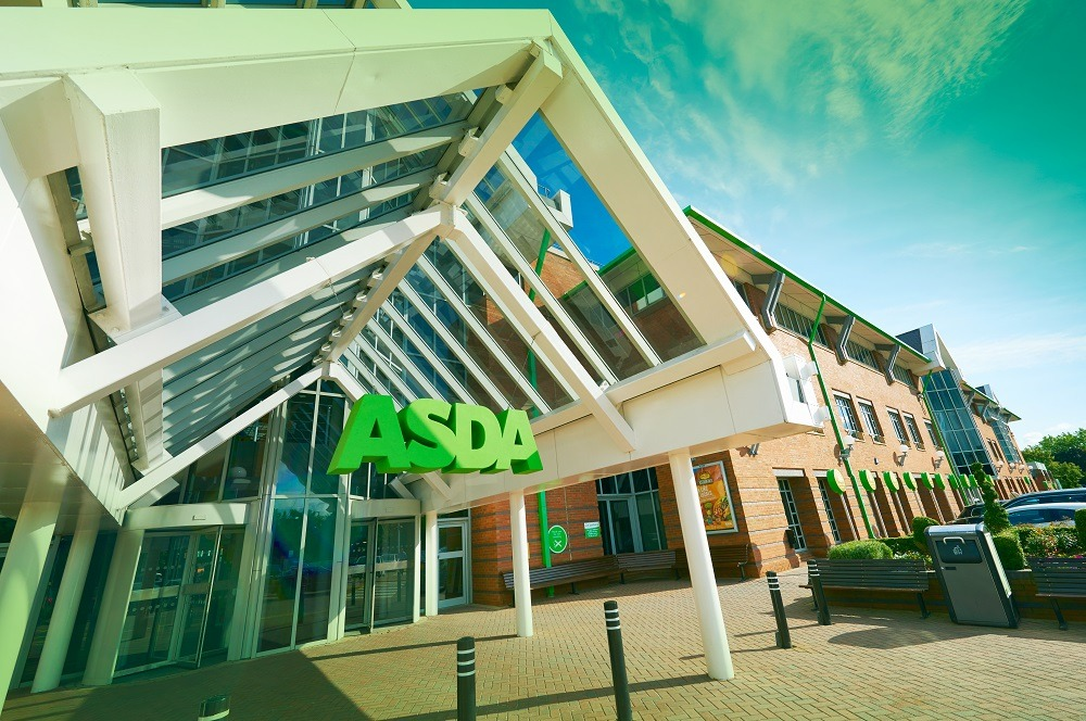 asda packaging, supermarket sector