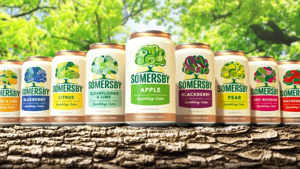somersby packaging