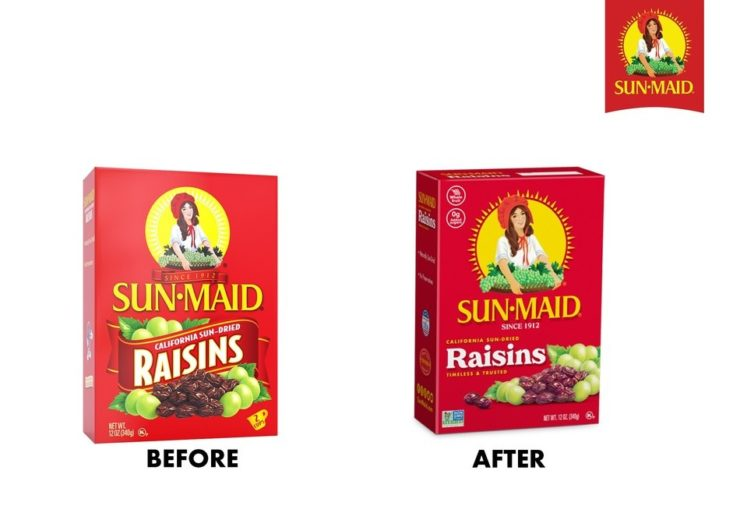 Sun-Maid New Packaging
