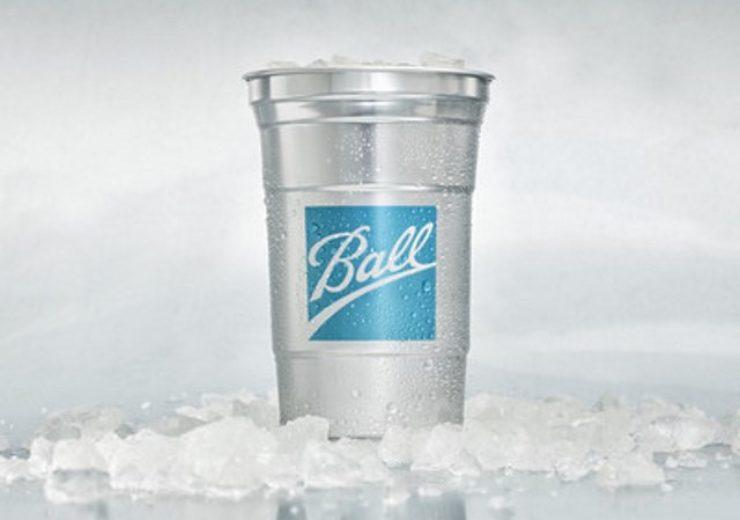Ball aluminium cup