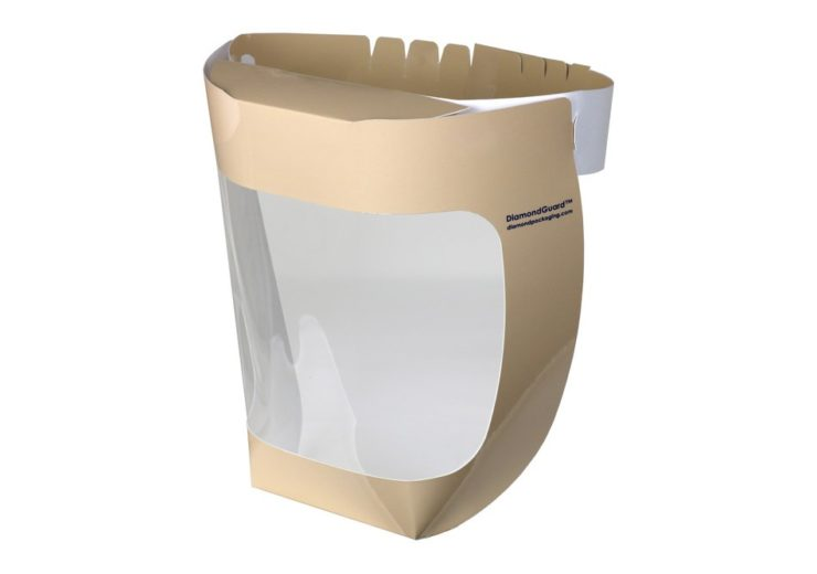 Diamond Packaging Face Shield