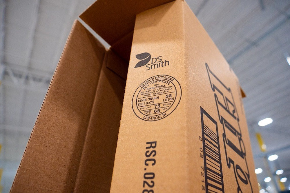 DS Smith paper packaging