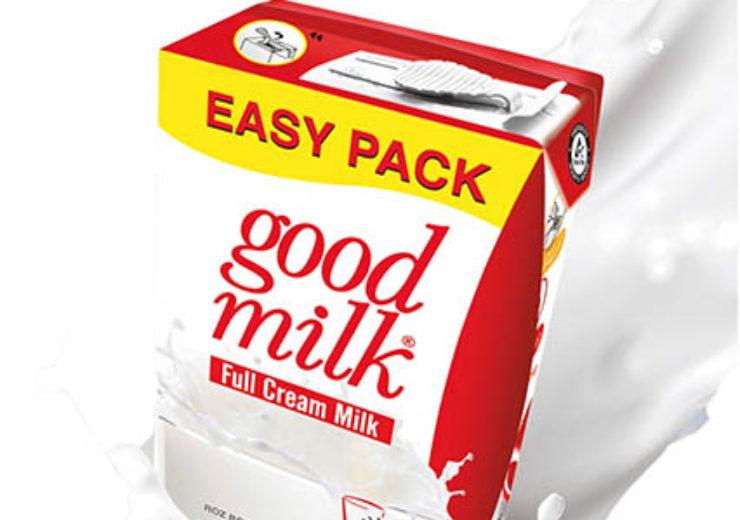 UHT milk in Tetra Brik® Aseptic Base Leaf MiM
