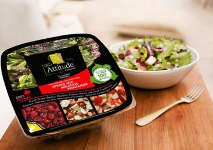 Cascades Inc--Fresh Attitude salads now sold in 100- recycled pl