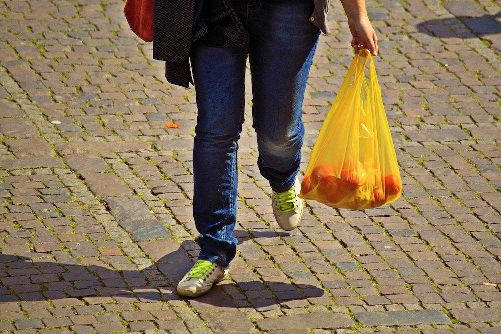 plastic carrier bag England