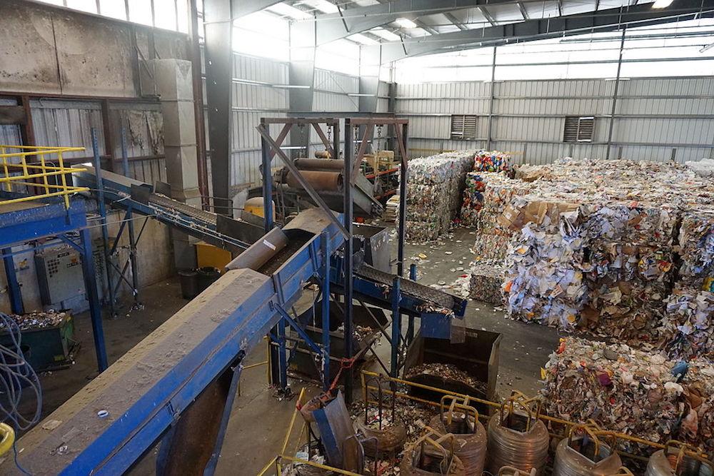 UK plastic reprocessing