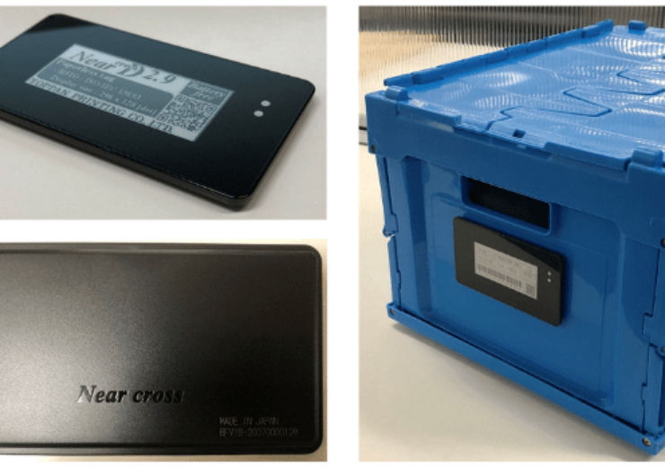 Toppan's RFID tag with Electronic Paper Display drives digital transformation in manufacturing