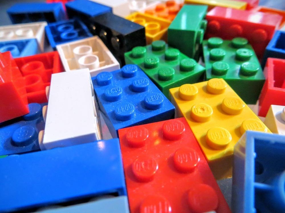 LEGO plastic bags