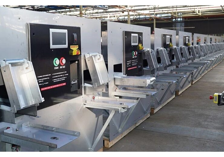 SAGE deploys container sorting machines in Western Australia