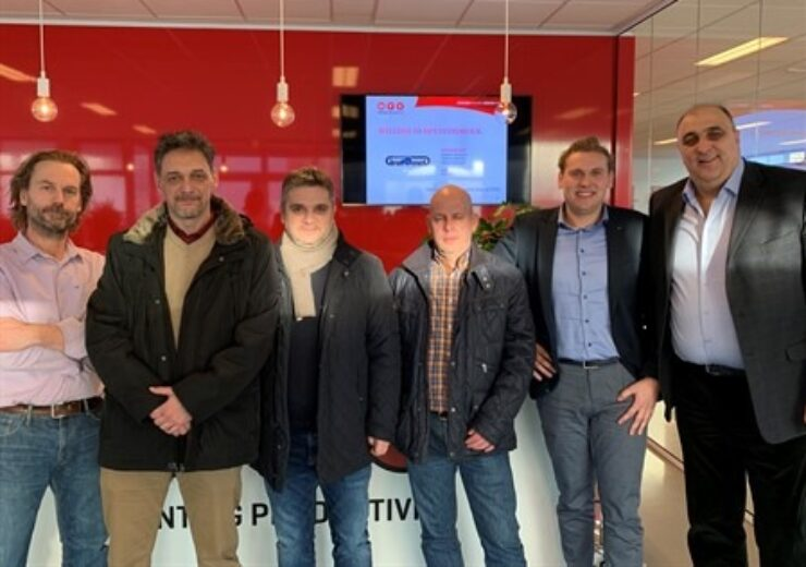 Grafomed-Owner-production-team-Serbia-visit-MPS-HQ-together-with-Sasa-Papic-from-Flexypack_450x338