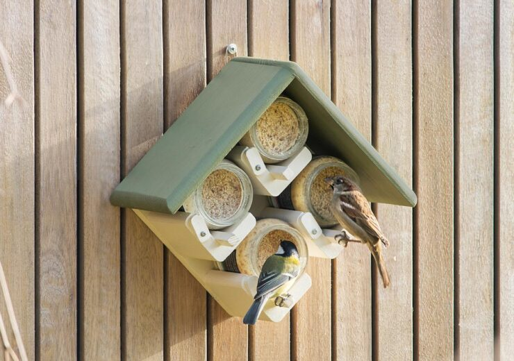 Beatson Clark's glass jars are strictly for the birds