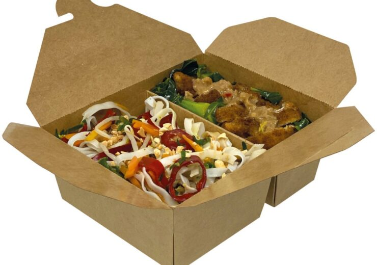 Food packaging firm Colpac develops dual compartment cartonboard to-go box