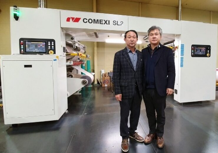 South Korea's Yusung Pack installs new Comexi SL2 laminator
