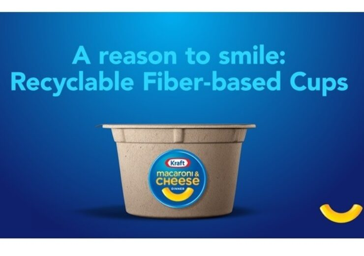 Kraft Mac & Cheese announces development of recyclable fibre-based microwavable cup