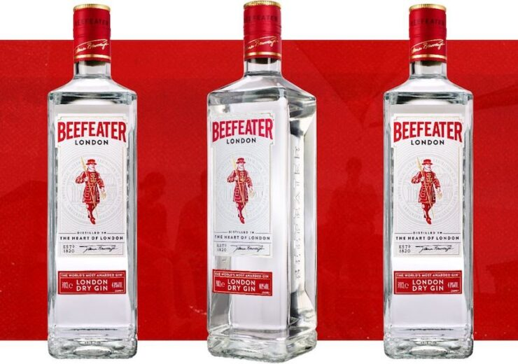 Beefeater gin launches new 'sustainable' packaging design