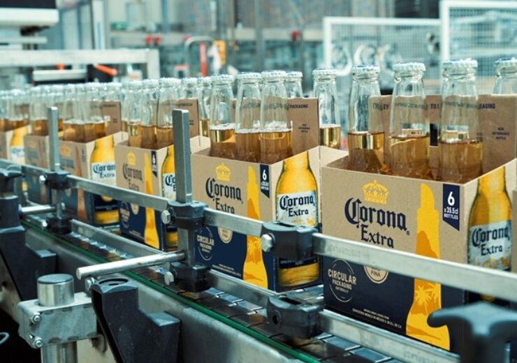 AB InBev's Corona unveils sustainable packaging for beer