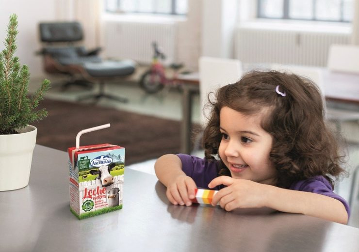 SIG's Paper U-straw makes commercial debut with CAPSA's whole milk product