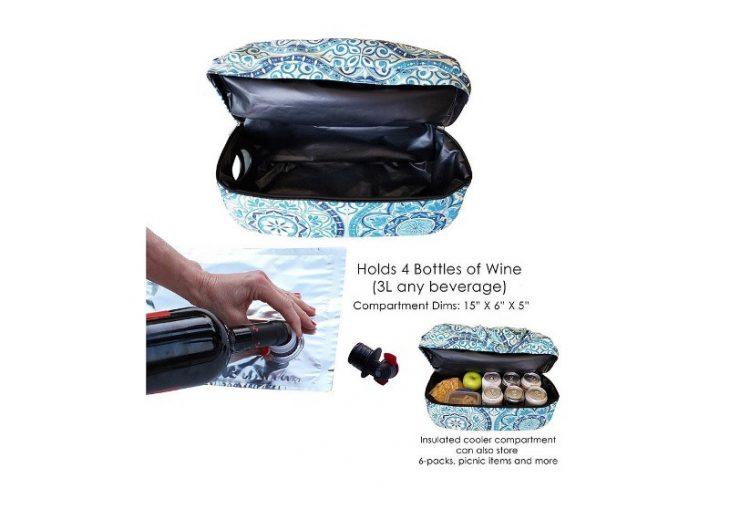 PortoVino Wine Purse acquires The Swankey Beverage Tote Bag