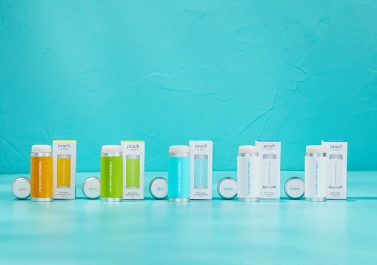 Grove Collaborative expands Peach personal care line with 100% plastic-free deodorant and body care refill system