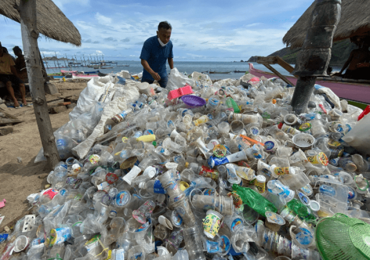 From coast to kitchen – plastic destined for the ocean to be used in Waitrose packaging