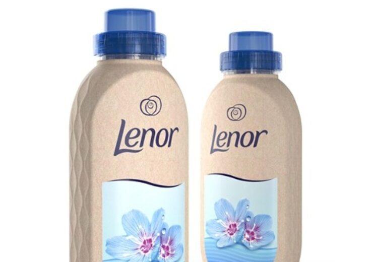 P&G unveils paper bottle for fabric softener brand Lenor