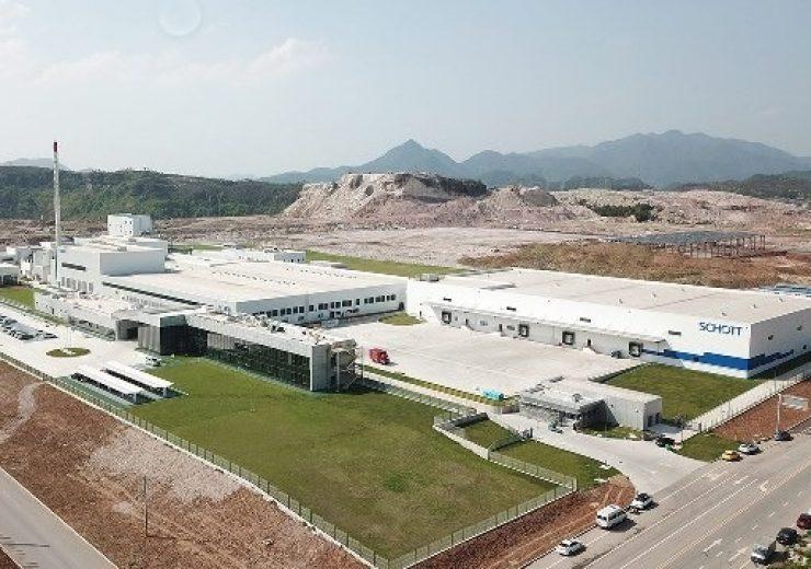 Schott opens glass tubing facility in Jinyun, China