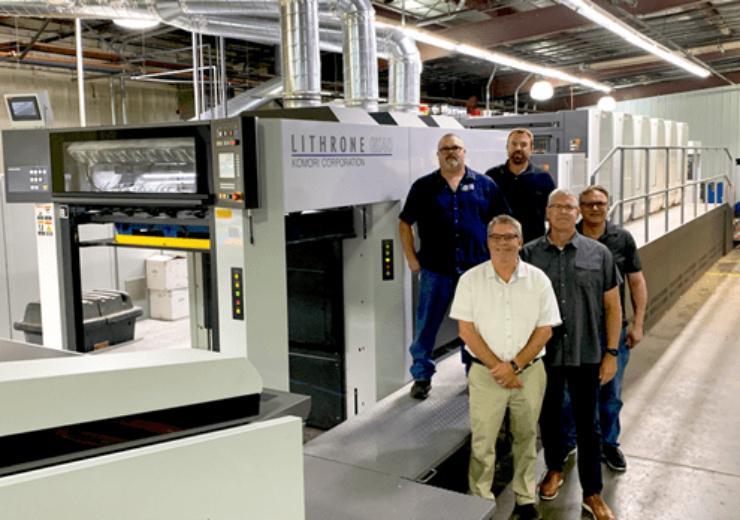 OlymPak Printing & Packaging installs Komori's Lithrone GX40 press