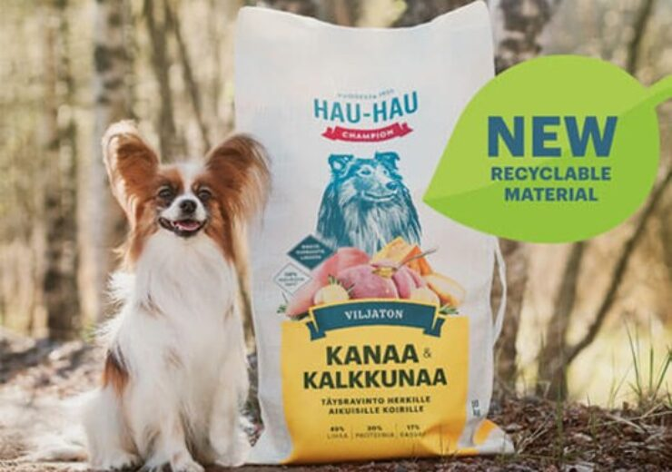 Mondi designs recyclable packaging for dog food brand Hau-Hau Champion